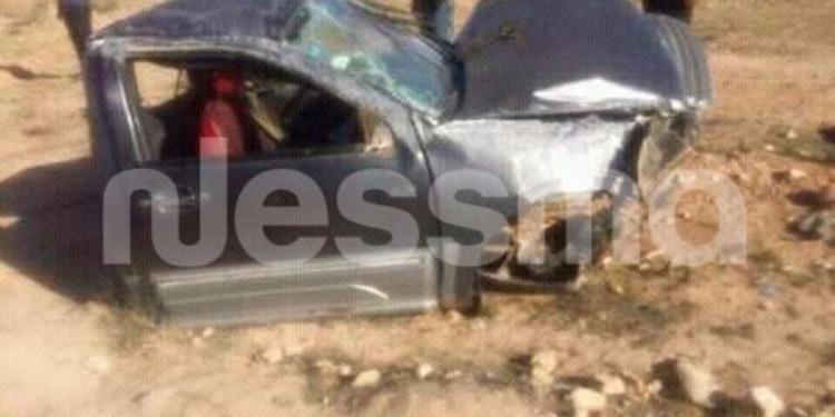 سيدي بوزيد : حادث مرور يودي بحياة شخص