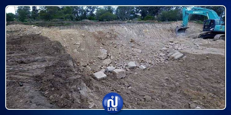 بنعروس: توقف أشغال مشروع ممول من الصين إثر اكتشاف آثار تحت الأرض