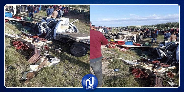 حادث سيدي بوزيد: 12 جنازة من نفس ''الدوار''