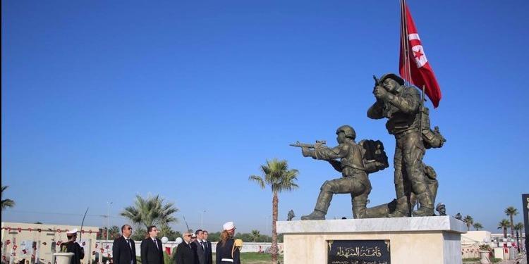 ثكنة قمرت: احياء الذكرى الثانية لاستشهاد أعوان الأمن الرئاسي (صور)