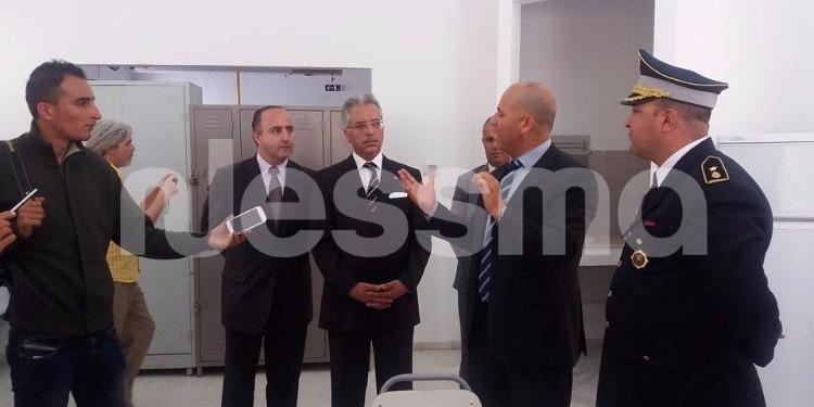 وزير العدل في زيارة الى مجموعة من السجون التونسية (صور)