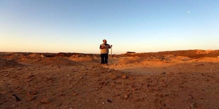تونسي يدفن جثث ''الحراقة'' قرب الحدود الليبية بمفرده في جرجيس