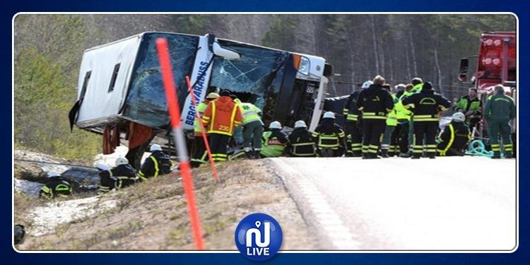 السويد: مصرع 6 أشخاص في حادث سير