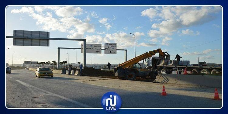 L'échangeur de la sortie ouest de Tunis, désormais ouvert ...
