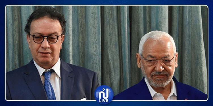 Les élections au cœur de la réunion Ghannouchi-Essebsi