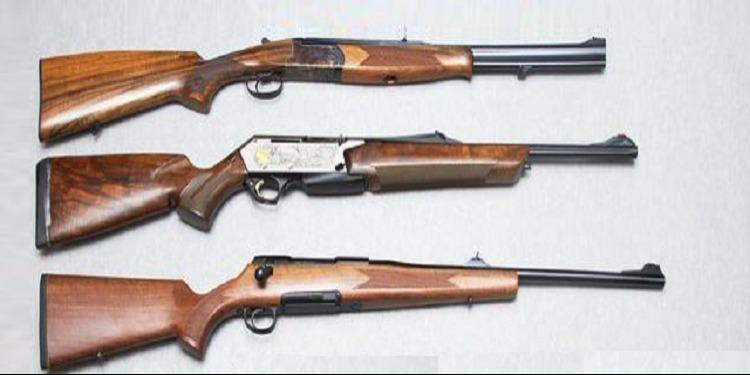 سليانة: حجز 3 بنادق صيد وآلة لصنع الأسلحة النارية