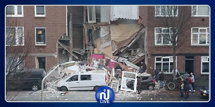 هولندا: انفجار هائل بمدينة لاهاي بسبب تسرّب للغاز