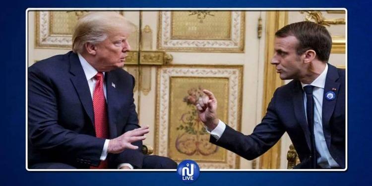 De retour à Washington, Trump s'attaque à la France