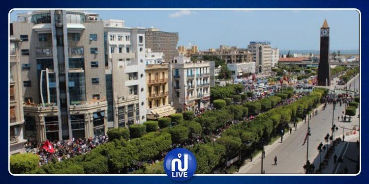 Aujourd'hui : Circulation interdite à l'Avenue Habib Bourguiba