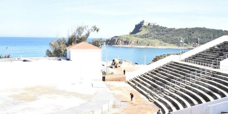 رسمي: إفتتاح مسرح البحر بطبرقة
