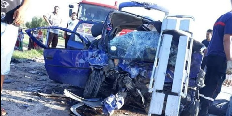 Kairouan : Tragique accident de la route (Photo)