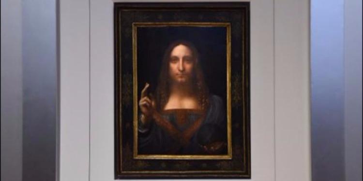 ''Salvator Mundi'', une peinture de Léonard de Vinci mise aux enchères pour 100 millions de dollars
