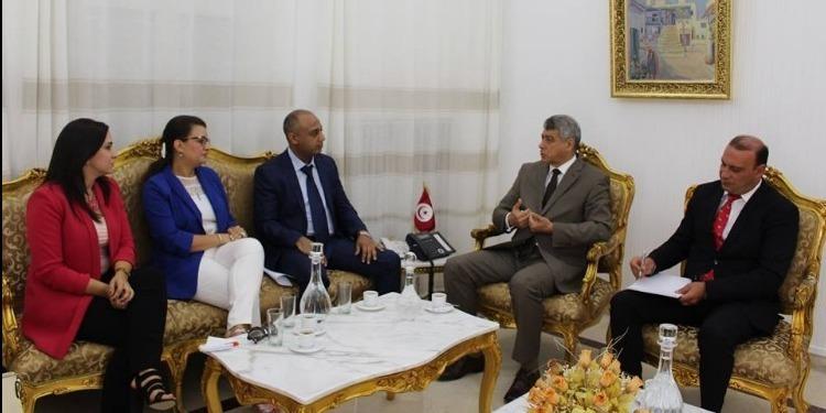 Le ministre de la justice rencontre les organismes professionnels de la magistrature