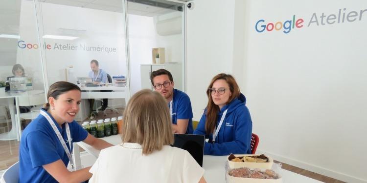 Google : Un atelier pour une formation numérique gratuite