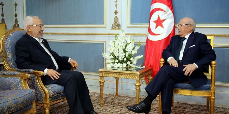 راشد الغنوشي: الرئيس الباجي قائد السبسي ماض في مشروعه الاصلاحي