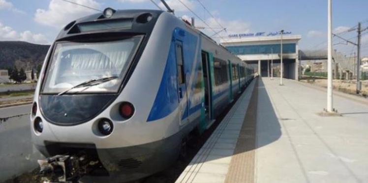 الأحواز الجنوبية لتونس: خروج قطار عن السكة