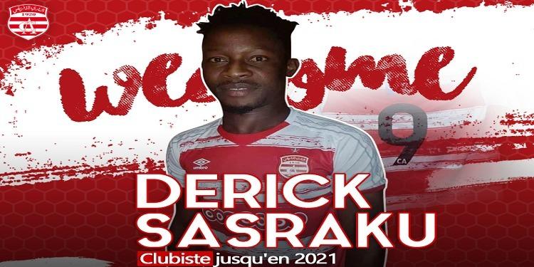 Le Ghanéen Sasraku signe pour le Club Africain pour trois saisons (photo)