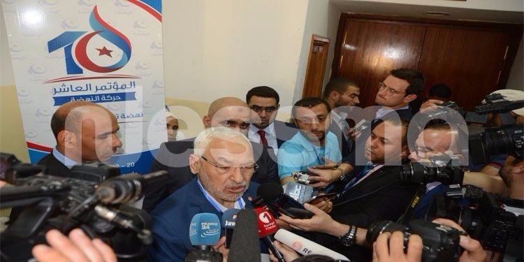 راشد الغنوشي ينفي  ما راج عن الإنسحابات في الترشح لرئاسة حركة النهضة (فيديو)