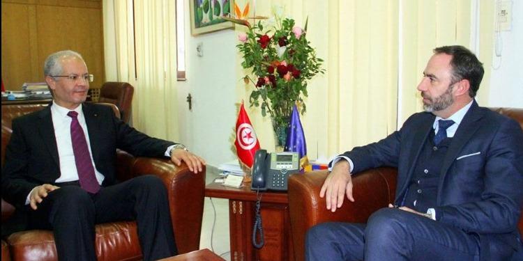 فحوى لقاء وزير الصحّة بسفير الاتّحاد الأوروبي