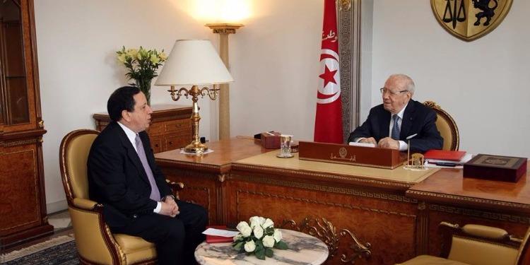 رئيس الجمهورية يستقبل وزير الشّؤون الخارجيّة