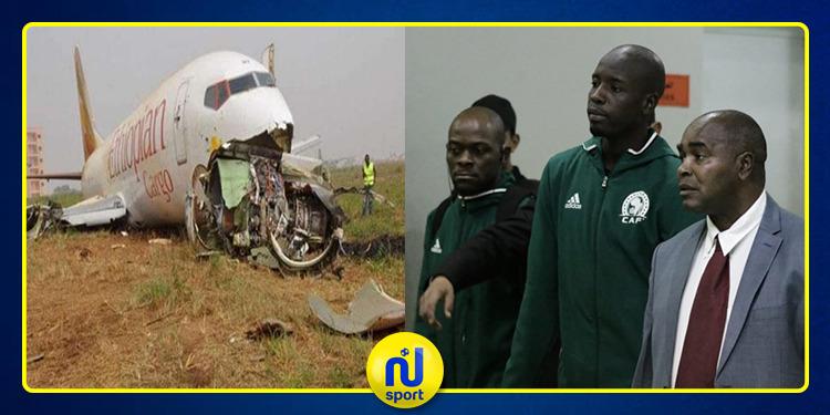 وفاة مراقب مباراة الإسماعيلي ومازيمبي في الطائرة الإثيوبية المنكوبة
