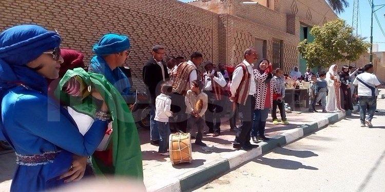 توزر: لمة تراثية تونسية جزائرية (صور)