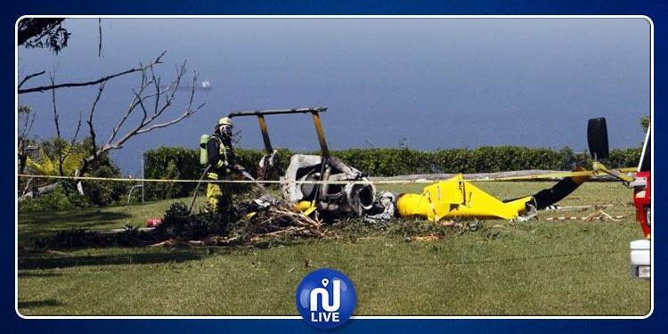 البرتغال: مصرع 4 أشخاص إثر تحطم طائرة إسعاف