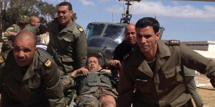 إصابة 3 جنود في مواجهات بين قوات الجيش الوطني وعناصر مسلّحة بجبل الشعانبي