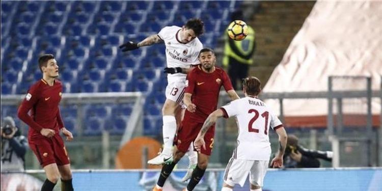 الدوري الإيطالي: ميلان يُطيح بروما ويصعد للمركز السابع
