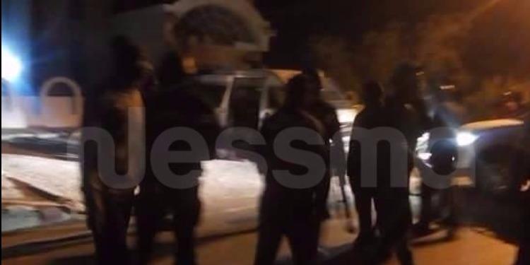 قبلي : مسيرة سلمية للتنديد بالعملية الارهابية (فيديو)