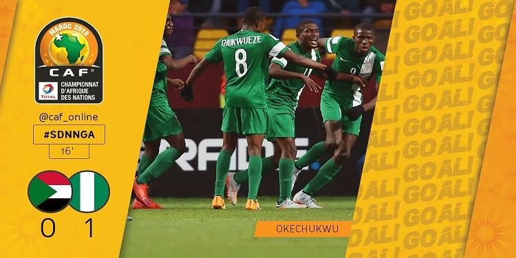 شان المغرب 2018: المنتخب النيجيري ينتصر على المنتخب السوداني.. ويتأهل للدور النهائي