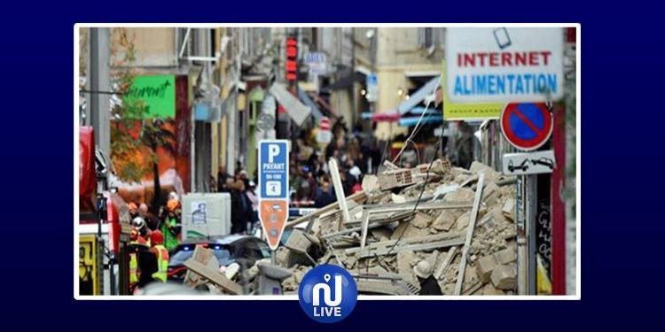 Marseille: 2 immeubles s'effondrent, au moins 2 blessés…