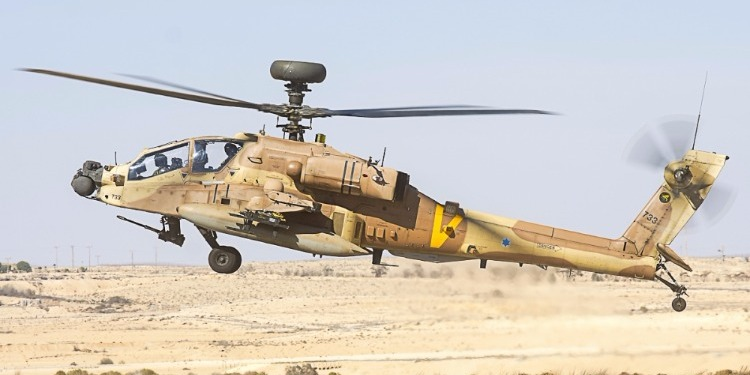 سقوط مروحية عسكرية إسرائيلية في الضفة الغربية