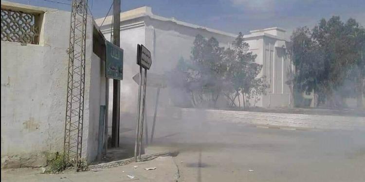 قفصة: تجدد المواجهات بين الأمن وعدد من المحتجين بالمظيلّة (صور)