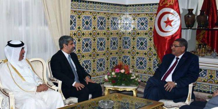 """رئيس الحكومة يستقبل الرئيس التنفيذي لمؤسسة """"صلتك"""" القطرية"""