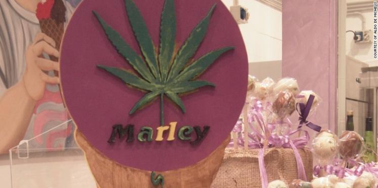 Marley, la nouvelle glace au cannabis