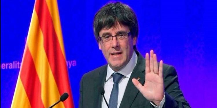 رئيس برلمان كتالونيا يؤجل تنصيب الانفصالي كارليس بوتشيمون
