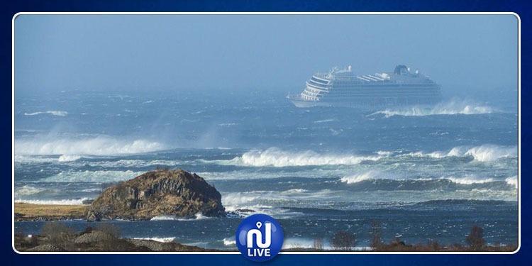 Norvège : évacuation de 1300 passagersd'un navire de croisière