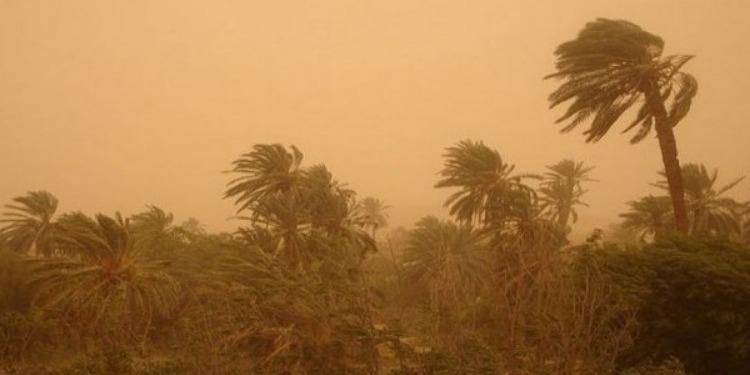 Le ministère de l'Intérieur émet une alerte contre une tempête de sable