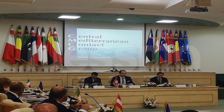اختتام  أشغال اجتماع وزراء داخلية مجموعة الاتصال حول طريق الهجرة بوسط المتوسط