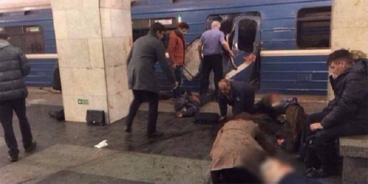 فلاديمير بوتين : دافع الارهاب وارد  في هجوم سان بطرسبورغ