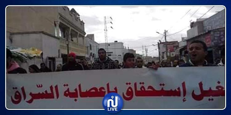دوار هيشر: مسيرة احتجاجية لعدد من متساكني المنطقة