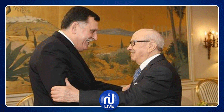 مع تصاعد المواجهات في ليبيا.. رئيس الجمهورية يهاتف فايز السراج