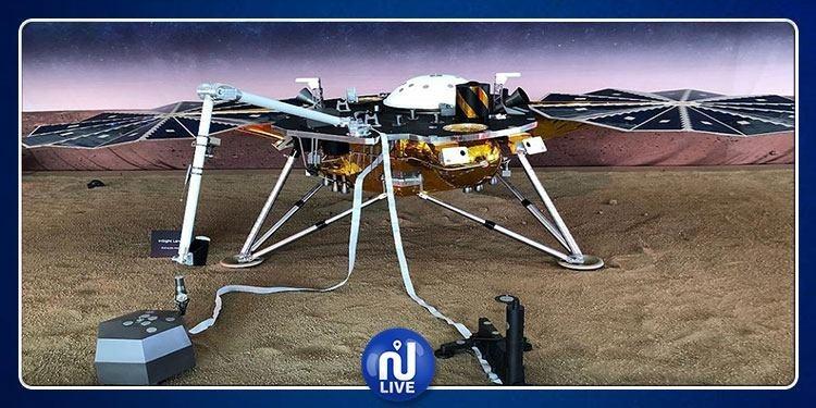 ''إنسايت'' يهبط بنجاح على سطح المريخ