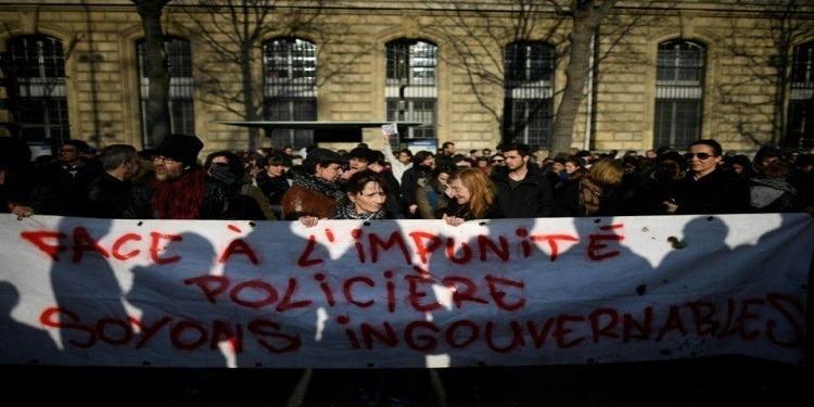 France : Une marche de solidarités, à Paris