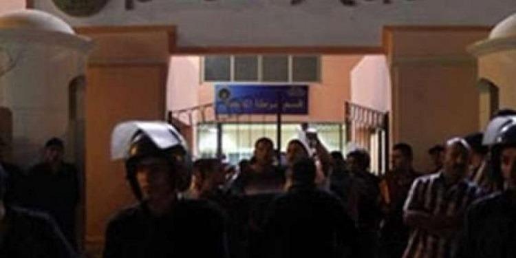 مصر: إشتباكات بين الأمن  ومواطنين إثر مقتل موقوف (صور+فيديو)