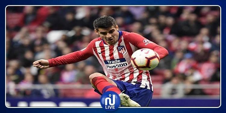 Atlético Madrid : Blessé, Morata incertain face au Barça