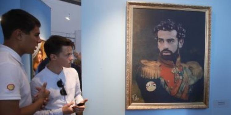 Saint Petersburg: Mohamed Salah, au Musée des arts (Photos)