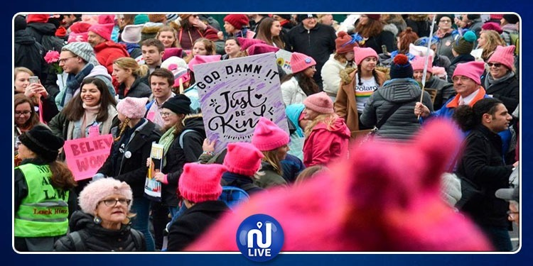 USA: manifestation pour défendre les droits des femmes