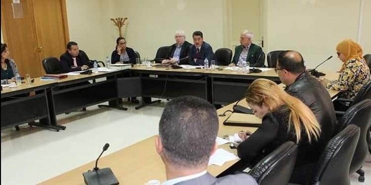 لجنة تنظيم الإدارة تواصل النظر في مشروع قانون إصدار مجلة الجماعات المحلية